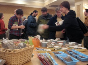 People flock to find heritage and locally grown organic seeds